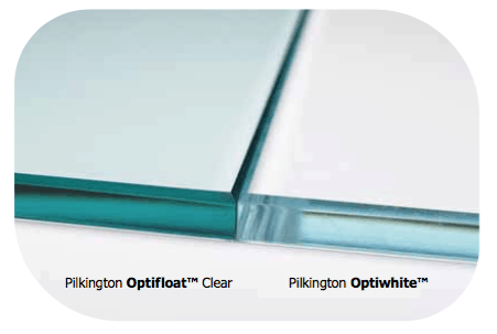 Low-Iron Optiwhite glass