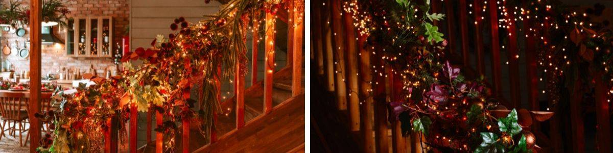 The best ways to decorate your staircase for Christmas